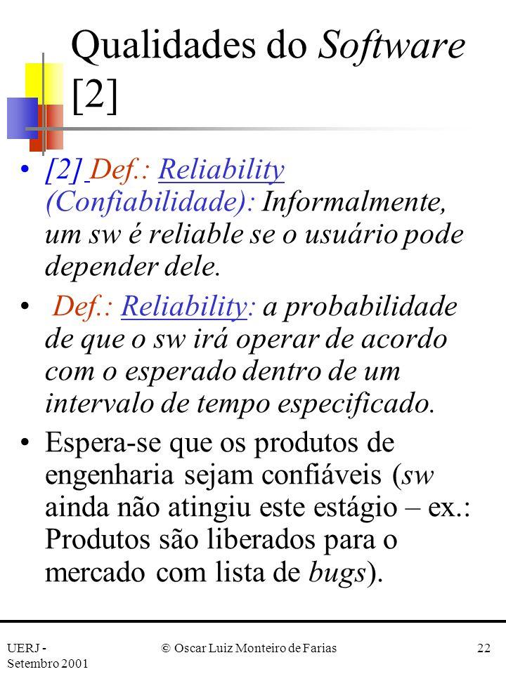 Qualidades do Software [2]